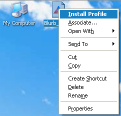Figure 3. Installing on Windows