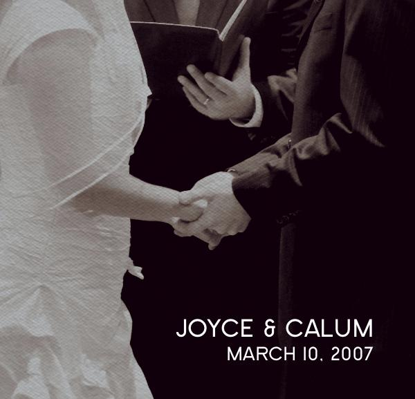 Click to preview JOYCE & CALUM photo book