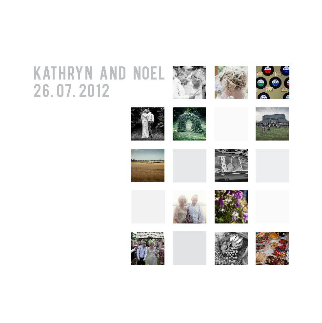 Click to preview Kat and Noel Wedding photo book