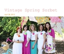 Vintage Spring Sorbet - Crafts & Hobbies photo book