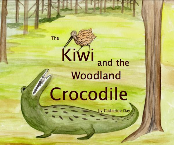 View The Kiwi and the Woodland Crocodile by Catherine Day