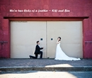 We're two birds of a feather ~ Kiki and Ben - Wedding photo book