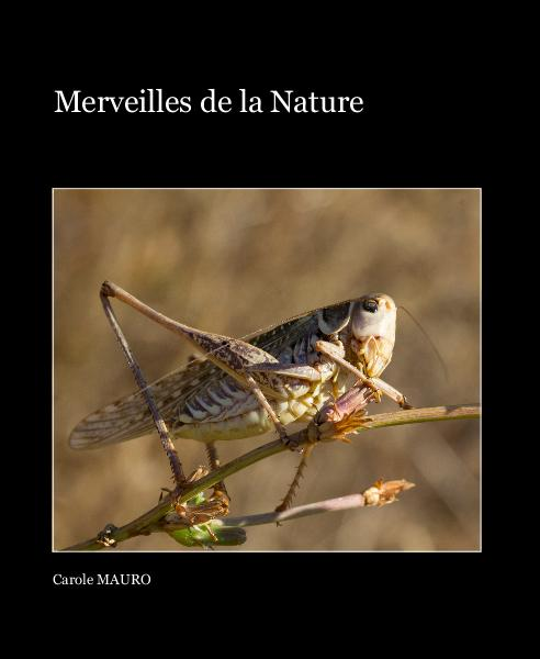 View Merveilles de la Nature by Carole MAURO