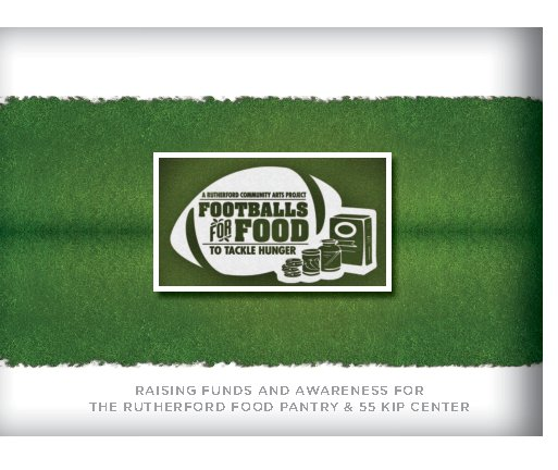 View Rutherford Footballs for Food by Kim Bogosian