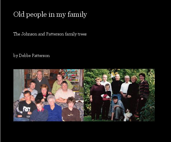 Click to preview Old people in my family photo book