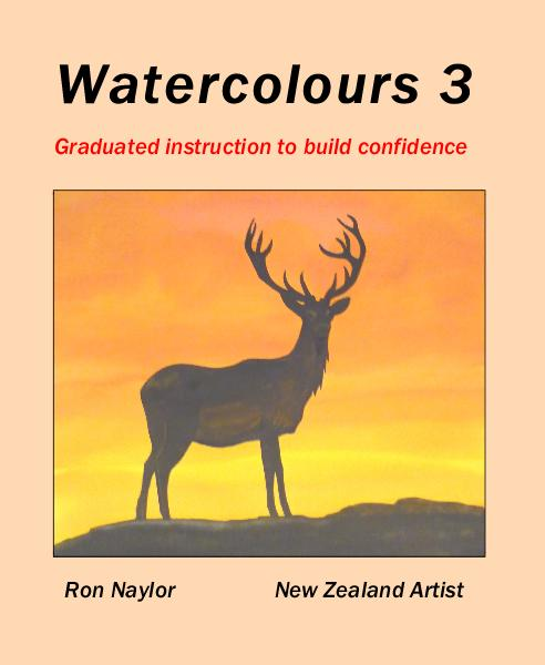 View Watercolours 3 by Ron Naylor New Zealand Artist