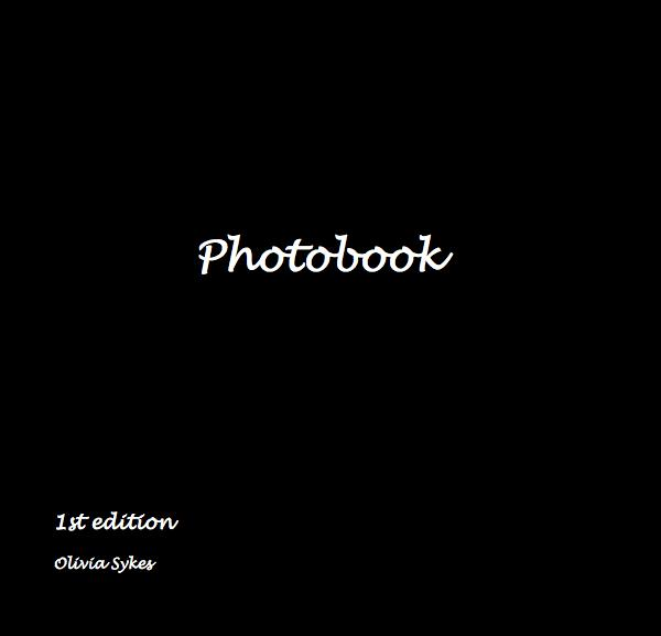 View Photobook by Olivia Sykes