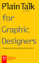 Plain Talk for Graphic Designers Pocket Guide - Educación libro de bolsillo y comercial