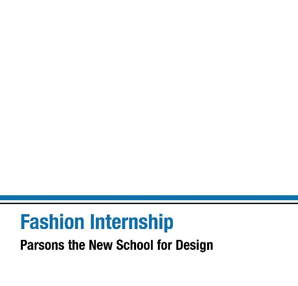 Click to preview Fashion Internship photo book