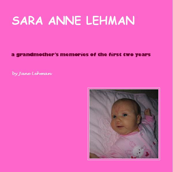 Click to preview SARA ANNE LEHMAN photo book