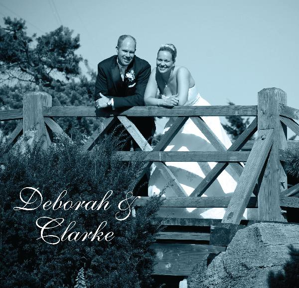 Click to preview Deborah & Clarke - album B photo book