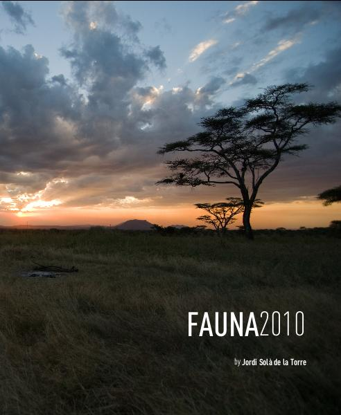 Click to preview FAUNA2010 photo book