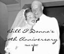 Bill & Donna, as listed under Wedding