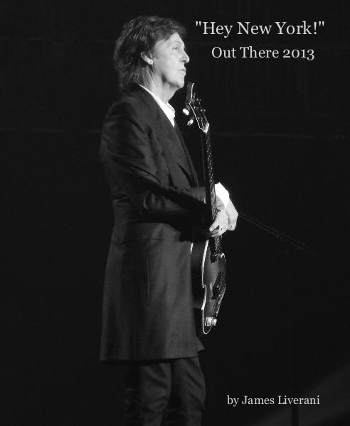 "Haga clic para obtener una vista previa Paul McCartney: ""Hey New York!"" libro de fotografías"