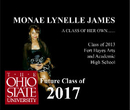 MONAE LYNELLE JAMES  A CLASS OF HER OWN.......         Class of 2013 Fort Hayes Arts  and Academic  High School - Educación libro de fotografías