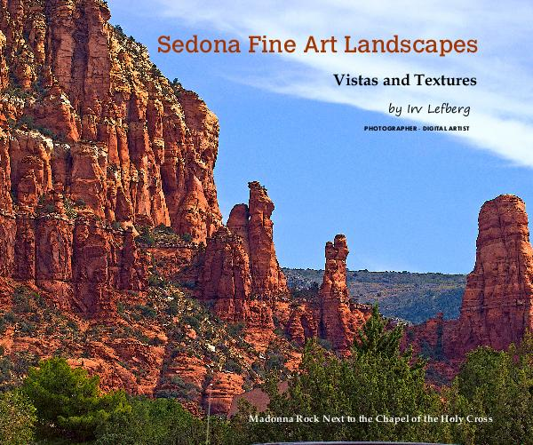 Click to preview Sedona Fine Art Landscapes photo book