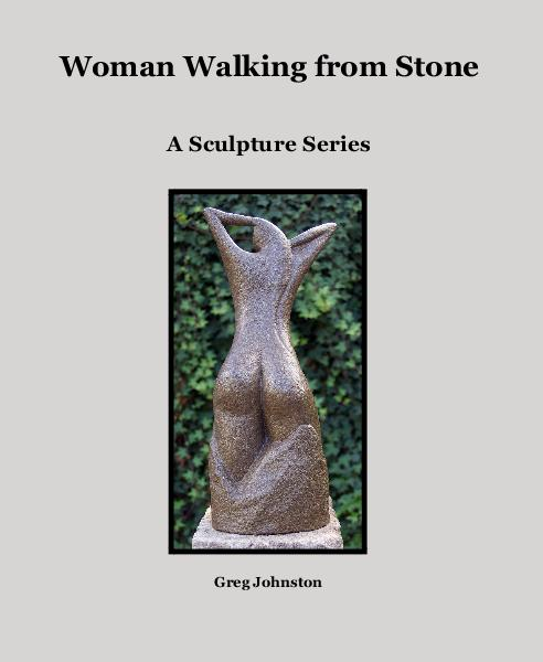 View Woman Walking from Stone by Greg Johnston