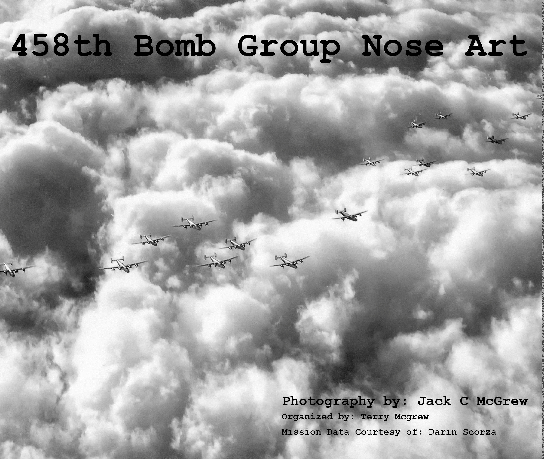 View 458th Bomb Group WWII by Terry McGrew