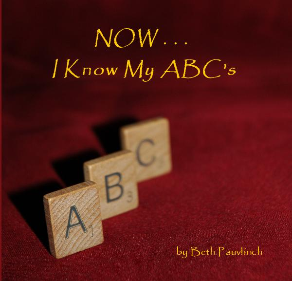 Click to preview NOW . . . I Know My ABC's photo book