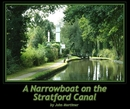 A Narrowboat on the Stratford Canal - Fine Art Photography photo book