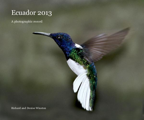 Click to preview Ecuador 2013 photo book