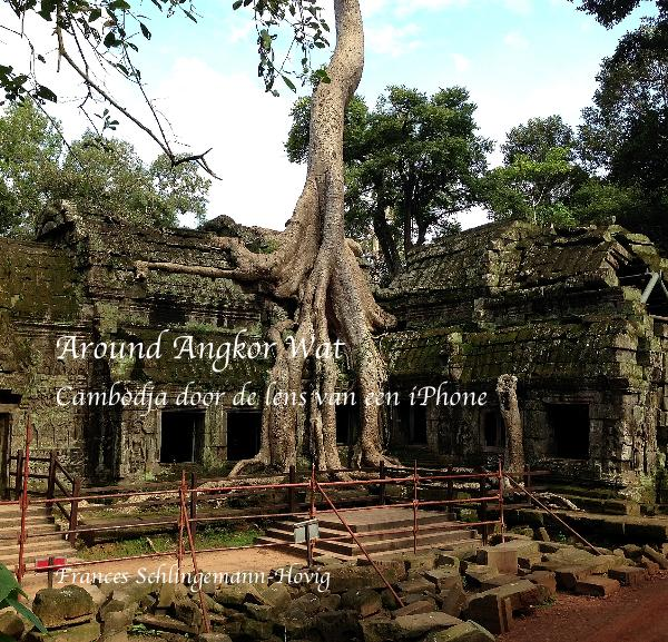 View Around Angkor Wat Cambodja door de lens van een iPhone by Frances Schlingemann-Hovig