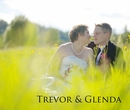 Trevor & Glenda - Wedding photo book