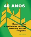 40 A�OS - Biographies & Memoirs photo book