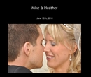 Mike & Heather - photo book