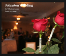 Johnston Wedding, as listed under Arts & Photography