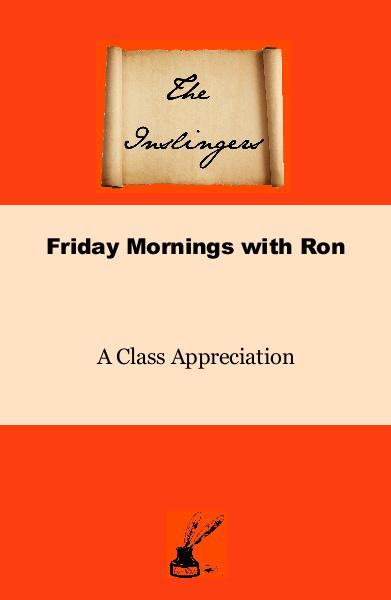 Click to preview Friday Mornings with Ron A Class Appreciation pocket and trade book