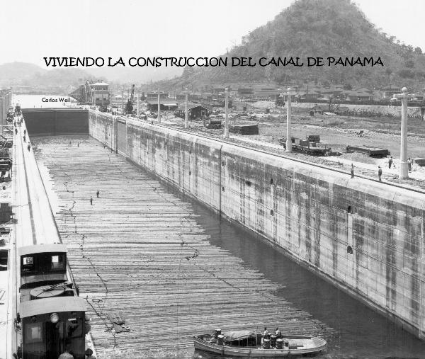 Click to preview VIVIENDO LA CONSTRUCCION DEL CANAL DE PANAMA photo book
