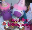 Moo's First Birthday Party, as listed under Humor