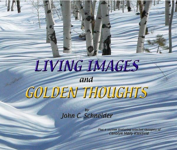 Click to preview LIVING IMAGES and GOLDEN THOUGHTS photo book