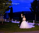 Mr. & Mrs. Bomgren - Wedding photo book
