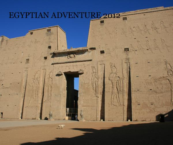 Click to zoom EGYPTIAN ADVENTURE 2013 photo book cover