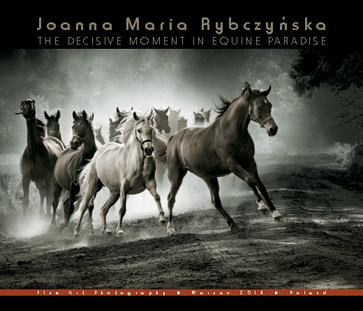View THE DECISIVE MOMENT IN EQUINE PARADISE by JOANNA MARIA RYBCZYNSKA
