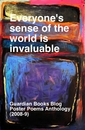 Everyone's sense of the world is invaluable - pocket and trade book