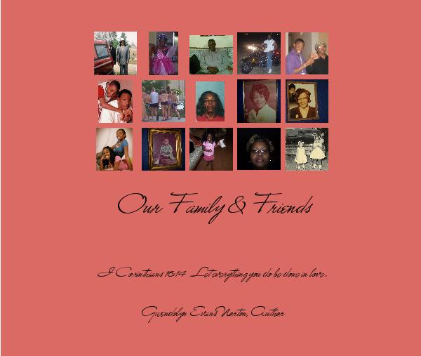 Click to preview Our Family & Friends photo book