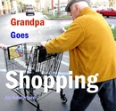 Grandpa Goes Shopping - Children photo book