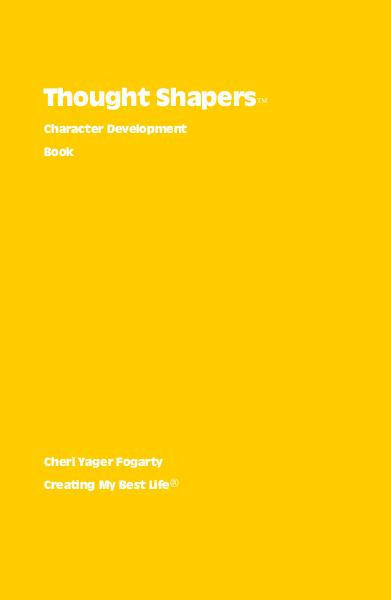Click to preview Thought Shapers™ Character Development Book pocket and trade book