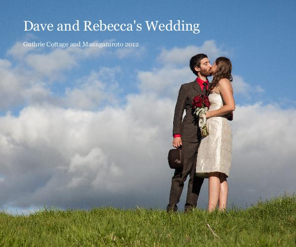 Click to preview Dave and Rebecca's Wedding photo book
