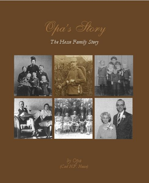Click to preview Opa's Story - 2nd Edition photo book