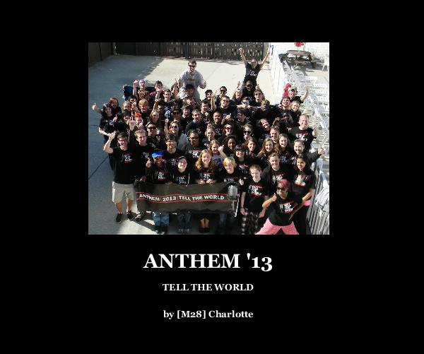 Click to preview ANTHEM '13 photo book