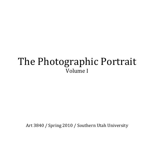Click to preview The Photographic Portrait Volume I photo book