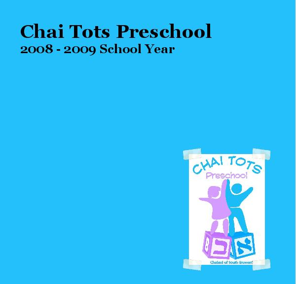 Click to preview Chai Tots Preschool photo book