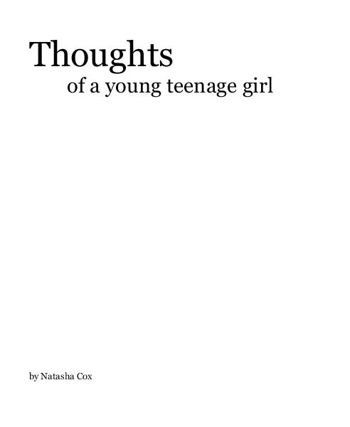 Haga clic para obtener una vista previa Thoughts of a young teenage girl libro de fotografías