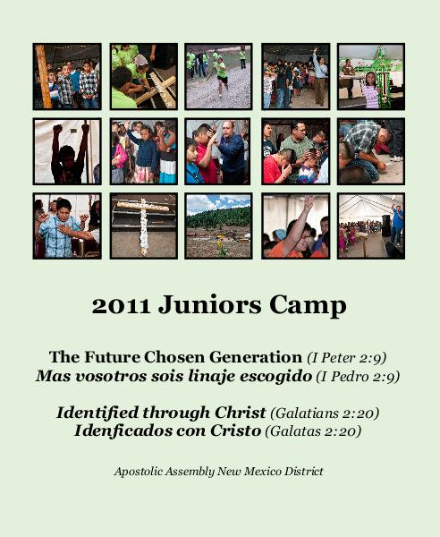 Click to preview 2011 Juniors Camp photo book