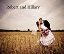 Robert and Hillary, as listed under Wedding