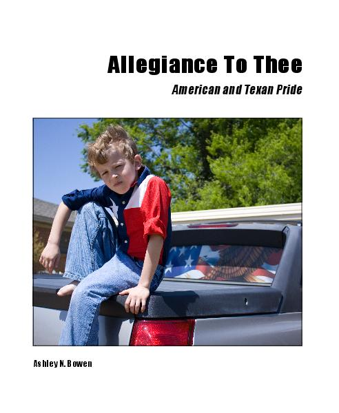 View Allegiance To Thee by Ashley N. Bowen